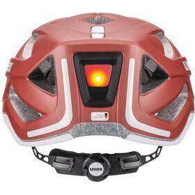 UVEX City Active Helm goji mat